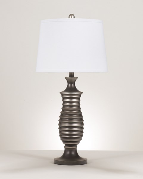 2 Ashley Furniture Rory Metal Table Lamps L202904