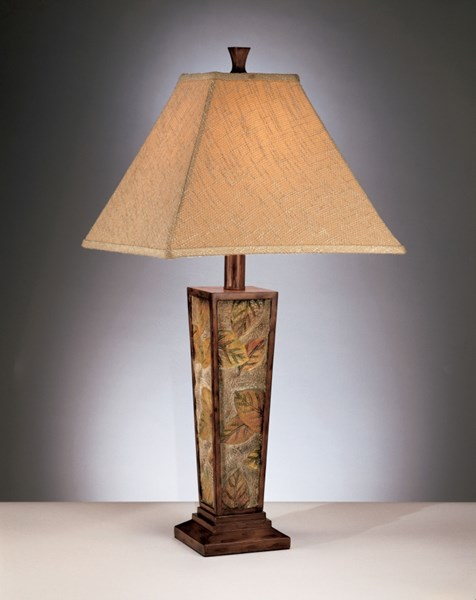 2 Eloise Traditional Brown Poly Table Lamp L329584