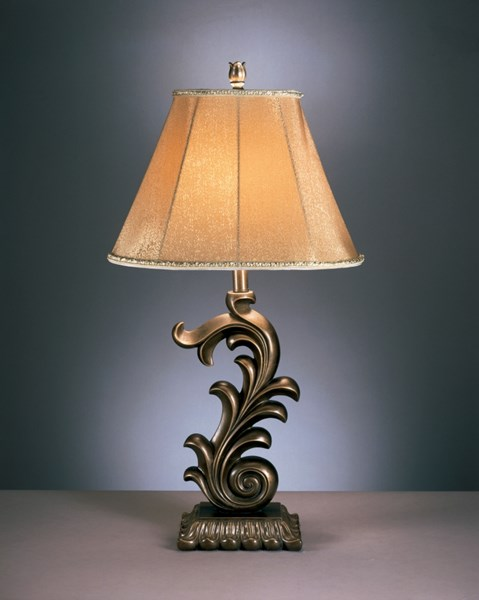 2 Eliza Traditional Bronze Metal Table Lamp L347784