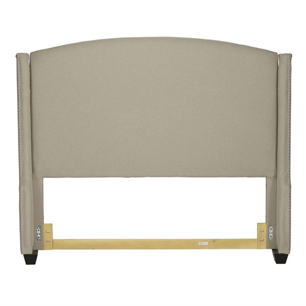 Liberty Upholstered Natural King Shelter Headboard LBRT-100-BR24HU