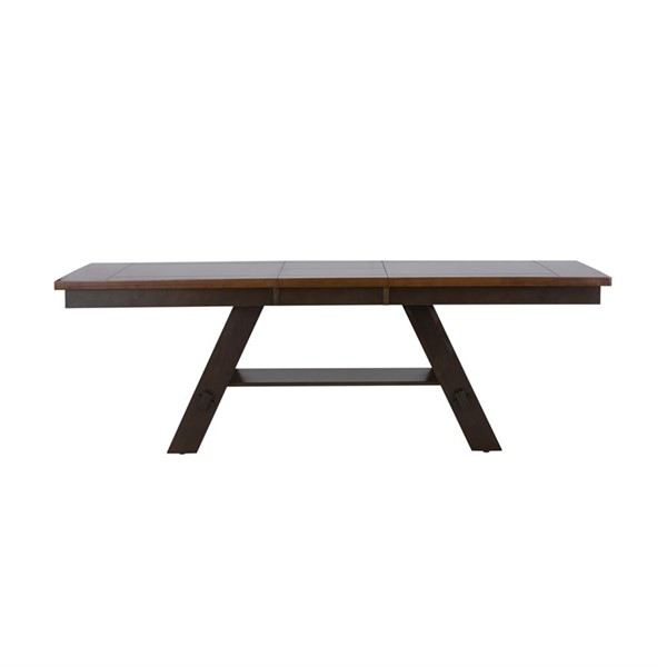 Liberty Lawson Expresso Pedestal Dining Table LBRT-116-P4090-DT