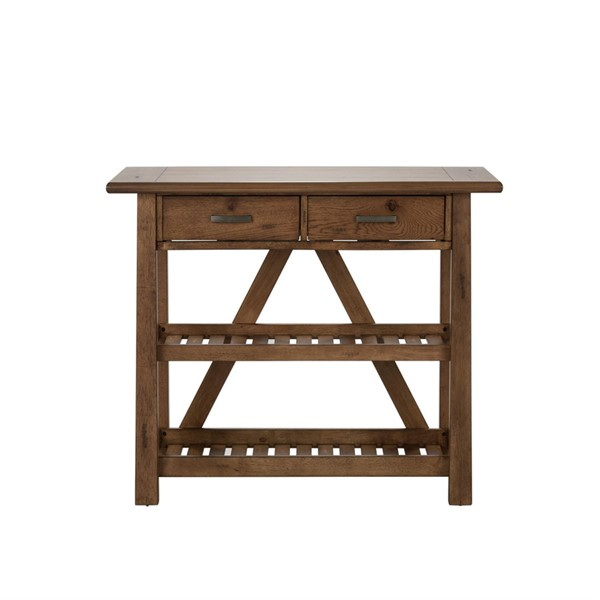 Liberty Farmhouse Oak Server LBRT-139-SR5536