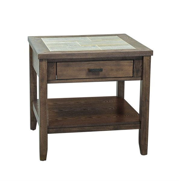 Liberty Mesa Valley Tobacco End Table LBRT-147-OT1020
