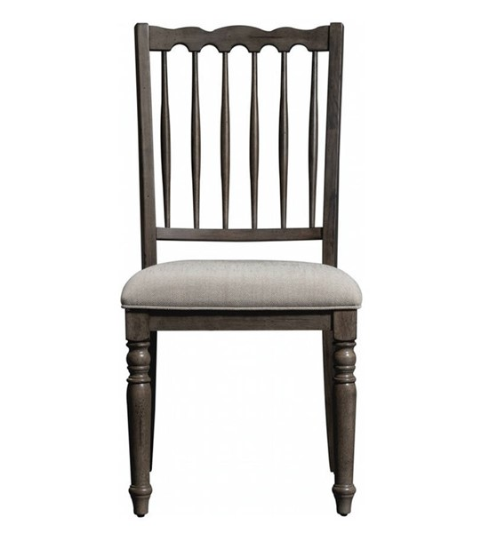 2 Liberty Brandywine Spindle Back Side Chairs LBRT-158-C4001S