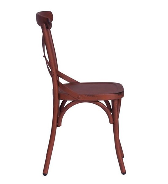 2 Liberty Vintage Red X Back Counter Chairs LBRT-179-B300524-R