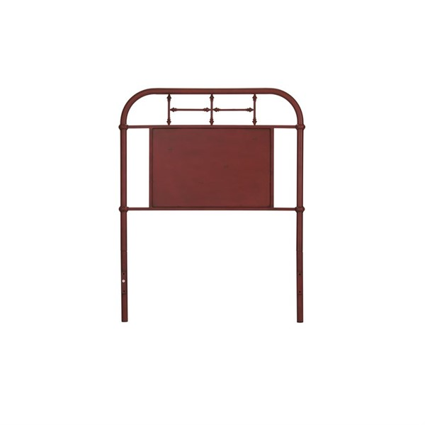 Liberty Vintage Youth Red Twin Metal Headboard LBRT-179-BR11H-R