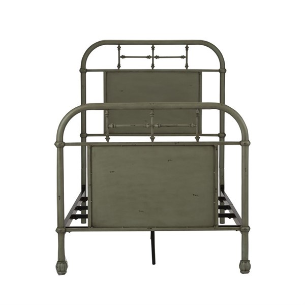 Liberty Vintage Youth Green Twin Metal Bed LBRT-179-BR11HFR-G