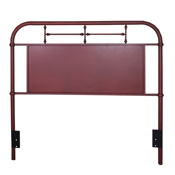 Liberty Vintage Youth Red Full Metal Headboard LBRT-179-BR17H-R