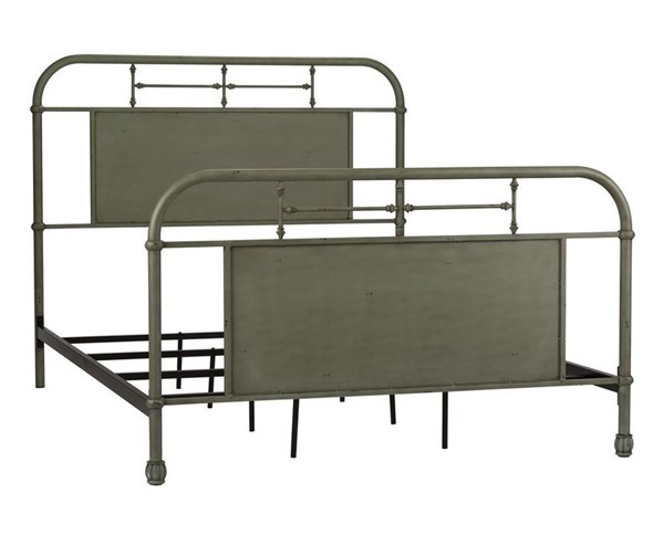 Liberty Vintage Youth Green Full Metal Bed LBRT-179-BR17HFR-G