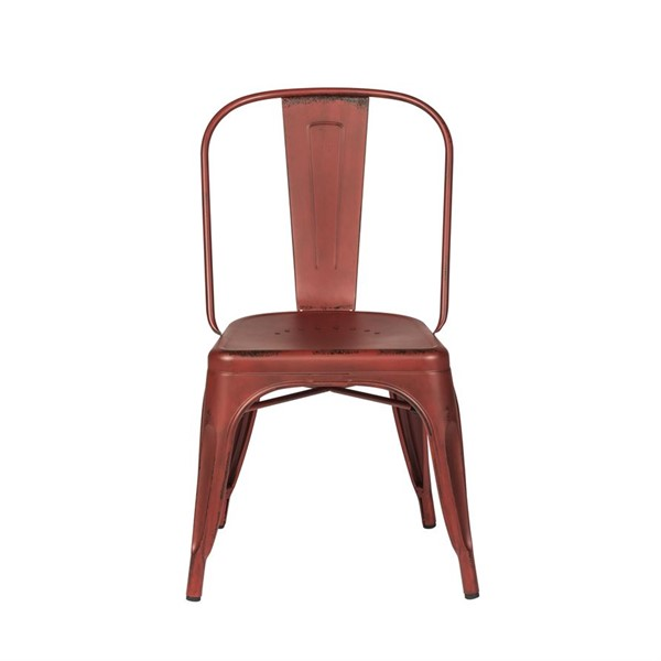 4 Liberty Vintage Red Bow Back Side Chairs LBRT-179-C3505-R