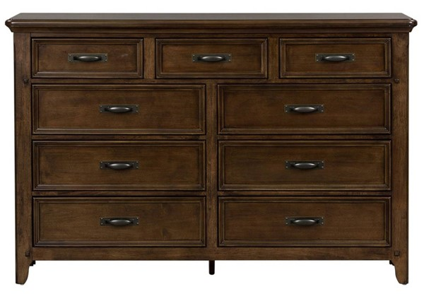 Liberty Saddlebrook Tobacco 9 Drawer Dresser LBRT-184-BR31