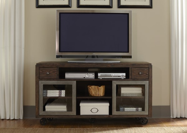 Liberty Avignon Rustic Brown TV Console LBRT-197-TV60
