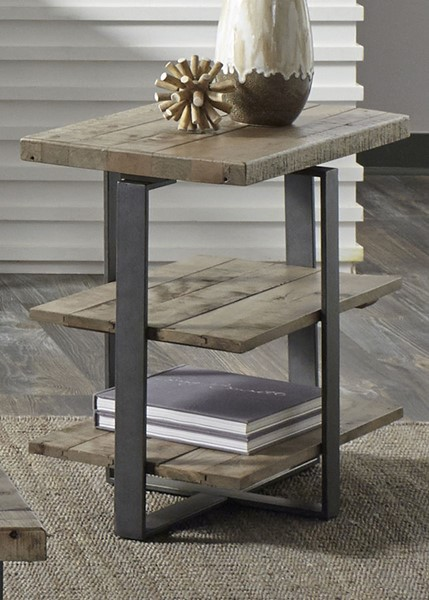 Liberty Baja Occasional Weathered Chair Side Table LBRT-214-OT1021