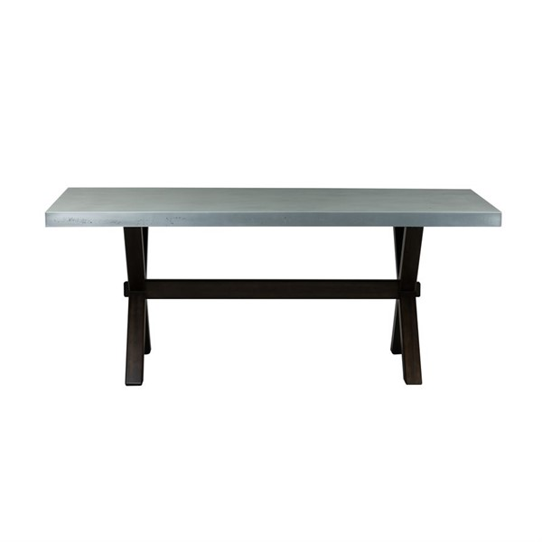 Liberty Keaton II Charcoal Trestle Table LBRT-219-T3876