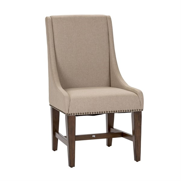2 Liberty Armand Antique Brown Side Chairs LBRT-242-C6501S