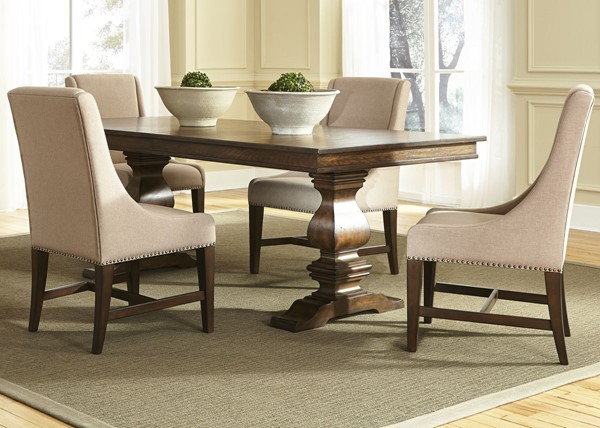 Liberty Armand Antique Brown 5pc Dining Room Set LBRT-242-DR-5TRS