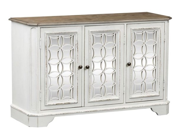 Liberty Magnolia Manor White TV Console LBRT-244-OT1031