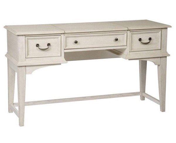 Liberty Bayside Youth White Vanity Desk LBRT-249-BR35
