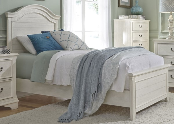 Liberty Bayside Youth White Panel Beds LBRT-249-YBR-TPB-BED-VAR