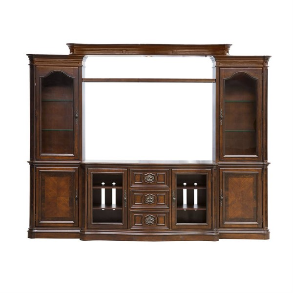 Liberty Andalusia Cherry Entertainment Center with Piers LBRT-259-ENTW-ECP
