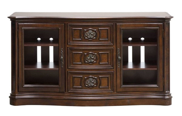 Liberty Andalusia Cherry Entertainment TV Stand LBRT-259-TV62