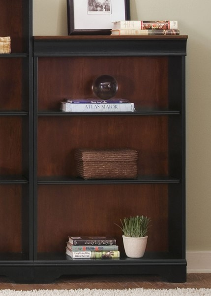Liberty St Ives Jr Chocolate Cherry Executive 48 Inch Bookcase LBRT-260-HO3048-RTA