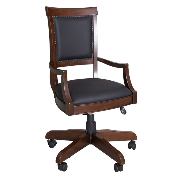 Liberty Brayton Manor Jr Cognac Executive Desk Chair LBRT-273-HO193