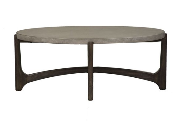 Liberty Cascade 3pc Coffee Table Set With Chair Side Table LBRT-292-OT1011-OCT-S1