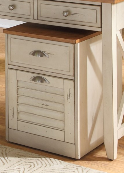 Liberty Ocean Isle Bisque Mobile File Cabinet LBRT-303-HO146