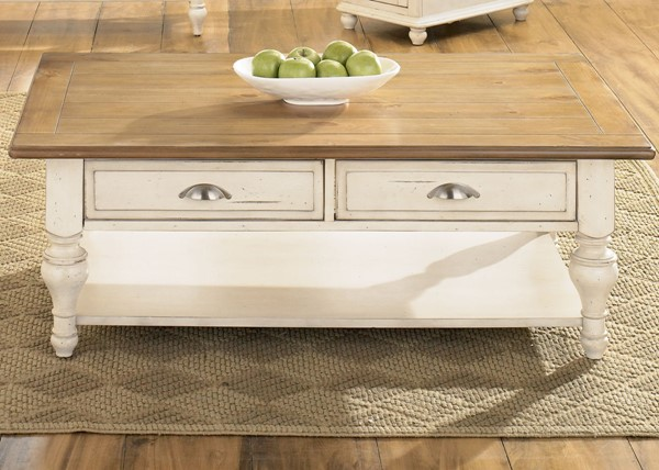 Liberty Ocean Isle Bisque Cocktail Table LBRT-303-OT1010