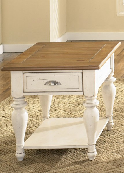 Liberty Ocean Isle Bisque End Table LBRT-303-OT1020