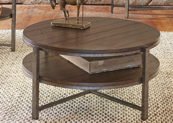 Liberty Breckinridge Mahogany Cocktail Table LBRT-348-OT1010