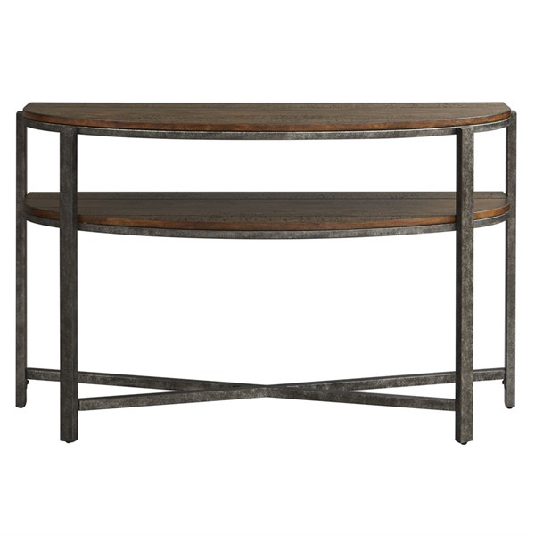 Liberty Breckinridge Mahogany Demilune Sofa Table LBRT-348-OT1030