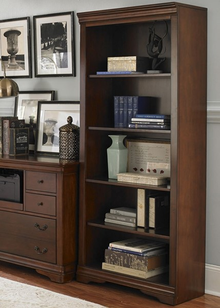 Liberty Brookview Cherry Bookcase LBRT-378-HO201