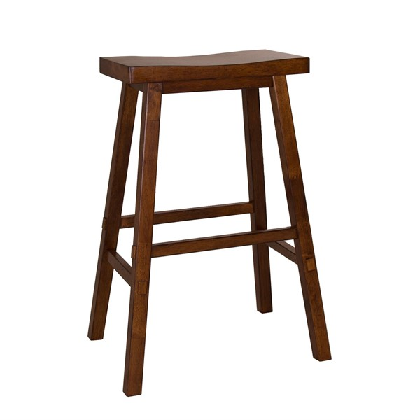 Liberty Creations II Tobacco Sawhorse 30 Inch Bar Stool LBRT-38-B1830
