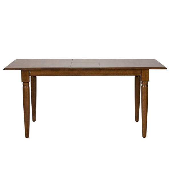 Liberty Creations II Tobacco Extension Leaf Dining Table LBRT-38-T300