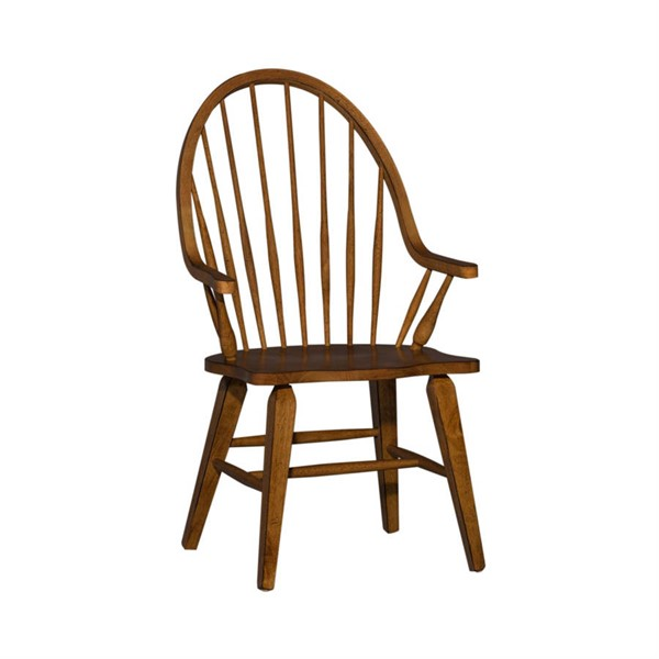 Liberty Hearthstone Rustic Oak Arm Chair LBRT-382-C1000A