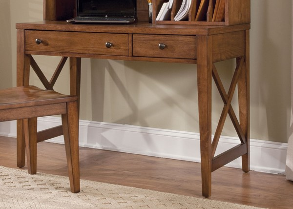 Liberty Hearthstone Rustic Oak Writing Desk LBRT-382-HO111