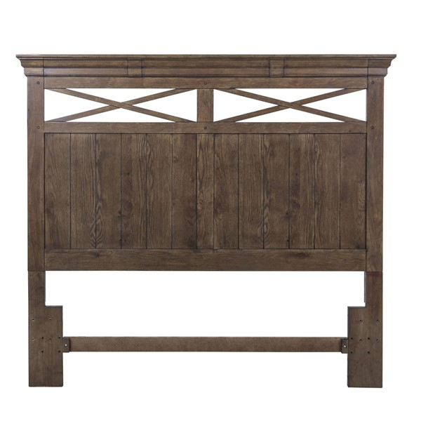Liberty Hearthstone Rustic Oak King Panel Headboard LBRT-382-BR15