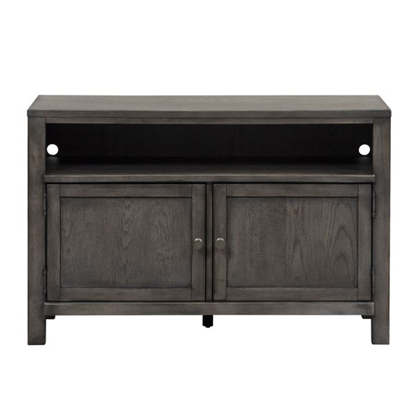 Liberty Modern Farmhouse Dusty Charcoal 46 Inch Entertainment Console LBRT-406-TV46