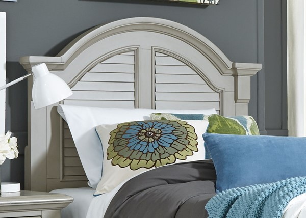 Liberty Summer House Youth Oyster White Panel Headboards LBRT-607-BR17-HDBD-VAR