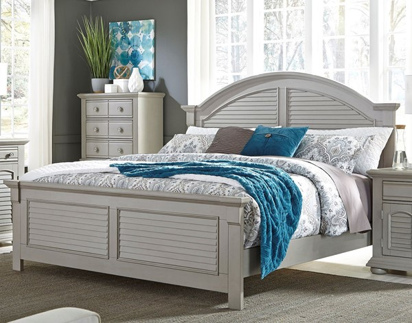 Liberty Summer House II Gray Panel Bed LBRT-407-QPB-BED-VAR1