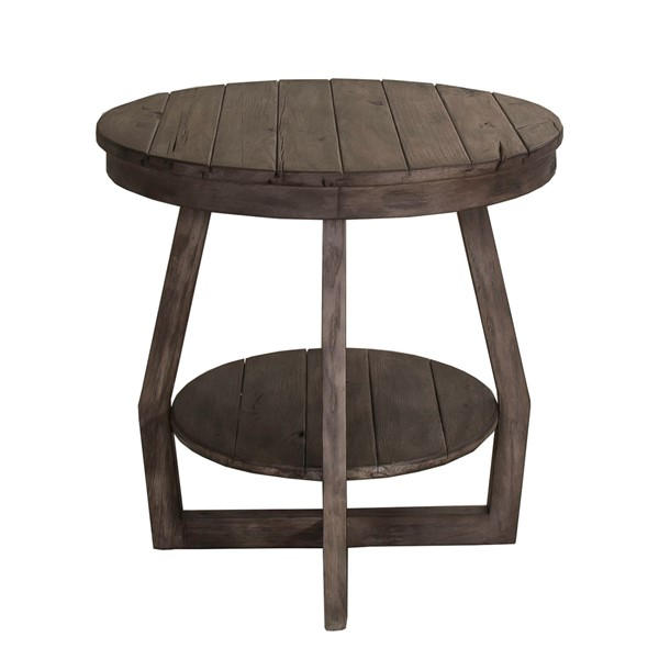 Liberty Hayden Way Gray Wash End Table LBRT-41-OT1020
