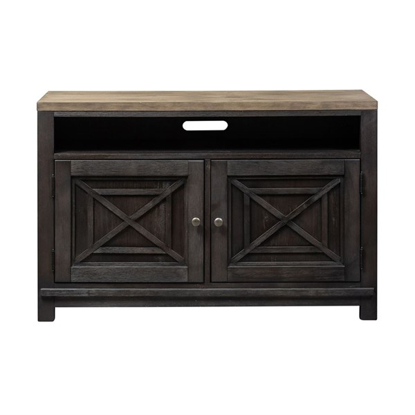 Liberty Heatherbrook Charcoal Ash 46 Inch TV Console LBRT-422-TV46