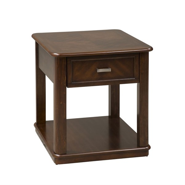 Liberty Wallace Dark Toffee End Table LBRT-424-OT1020