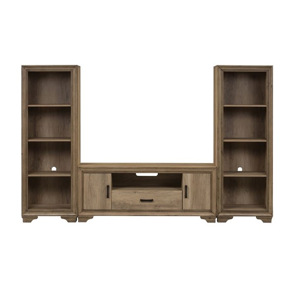 Liberty Sun Valley Sandstone Entertainment Center with Piers LBRT-439-ENTW-ECP