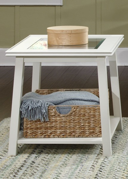 Liberty Summerhill Linen End Table LBRT-442-OT1020