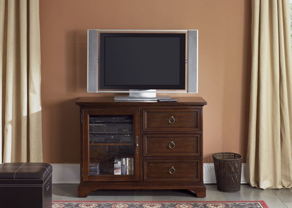 Liberty Beacon Cherry 44 Inch TV Console LBRT-452-TV44
