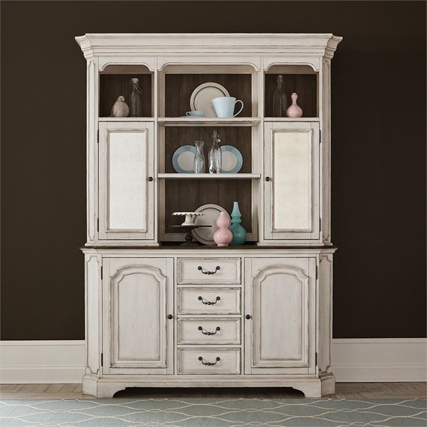 Liberty Abbey Road Hutch And Buffet LBRT-455W-DR-HB