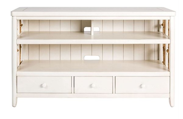 Liberty Dockside II White TV Console LBRT-469-TV55